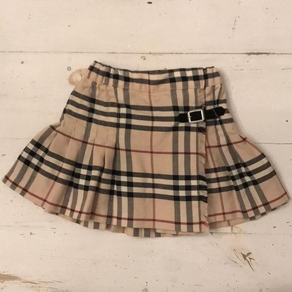 dcafeaca5a3e Burberry Other - BURBERRY Baby Girls Skirt Sz 12 Months